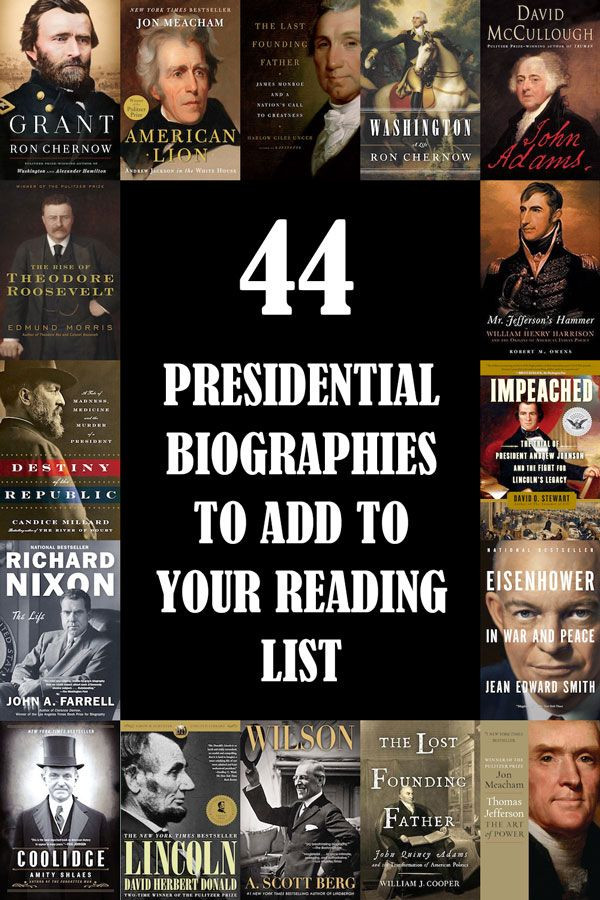 Ready to dive into history and read more about the forty-four men who have ruled over these United (and sometimes not-so-united) States? Check out these definitive presidential biographies. | Books | Books to Read | Reading | Reading List | History | American History | Presidents Day