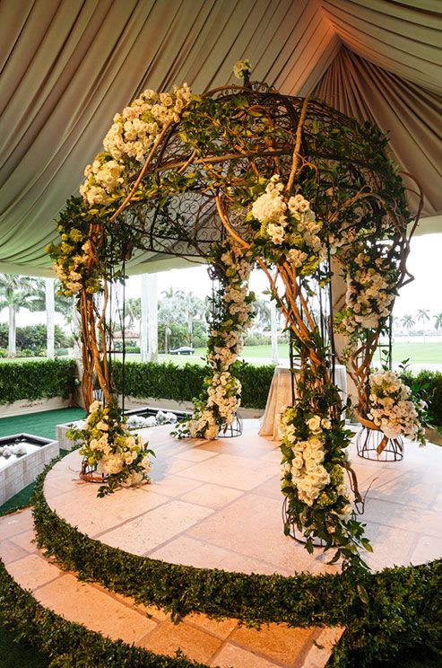Best 25 outdoor wedding altars ideas on pinterest for Altar wedding decoration