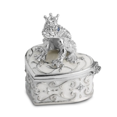 530 best images about frogs on pinterest ceramics for Things remembered jewelry box