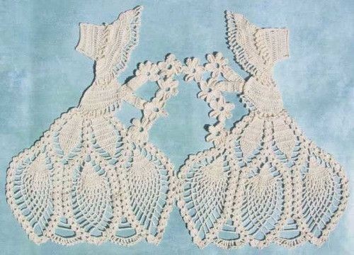 Old Fashioned Girl Doily Crochet Pattern