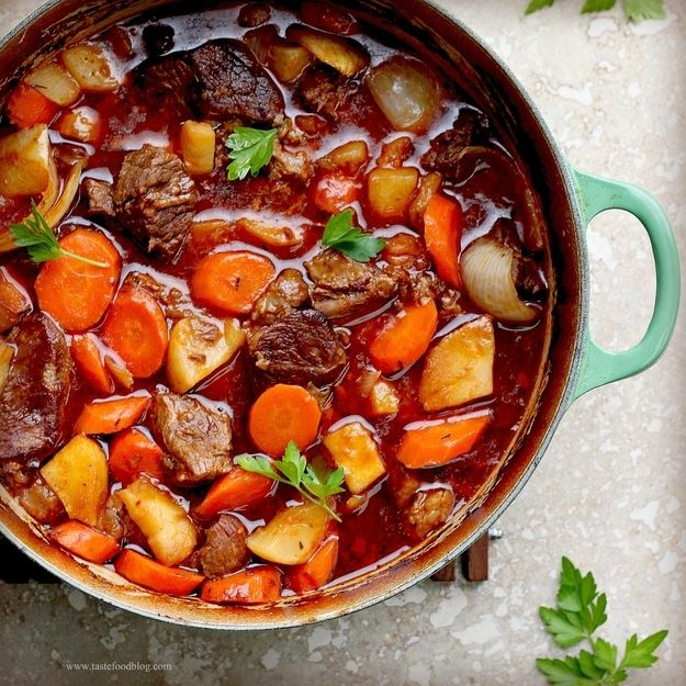Irish Beef Stew| 34 Ways To Eat Guinness On St. Patrick's Day
