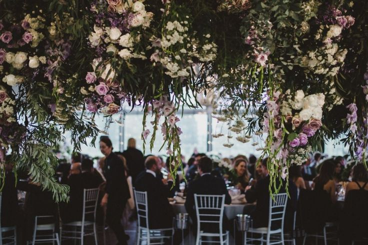 The LANE Real Weddings / A Romantic Garden Ceremony