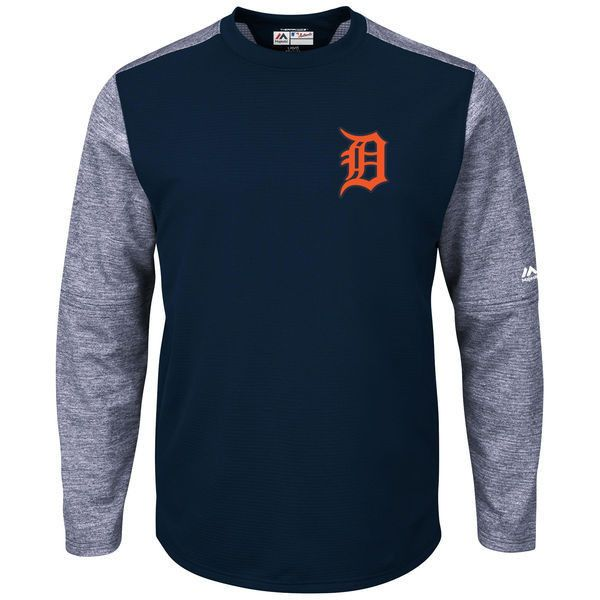 MLB Detroit Tigers Men's Authentic Collection On-Field Tech Fleece Pullover