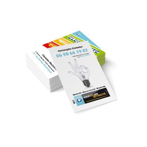 Création de cartes de visite : Chatelier électricité