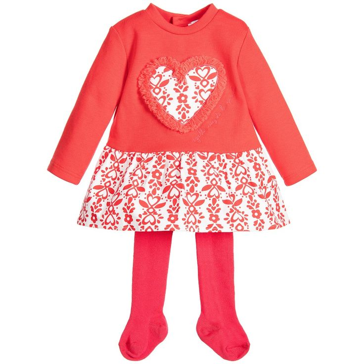 Red dress for baby girl you stay