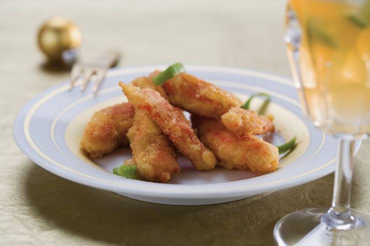 Chele di granchio fritte con caipirinha