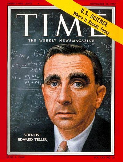 TIME Cover: Edward Teller
