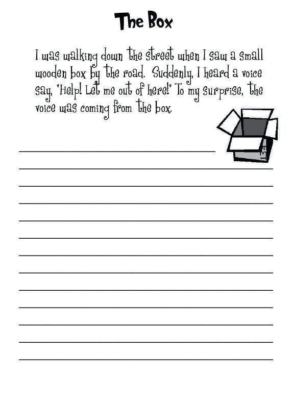 2nd Grade Writing Worksheets Writing prompts for kids