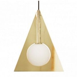 Replica Tom Dixon Plane Triangle Pendant Light
