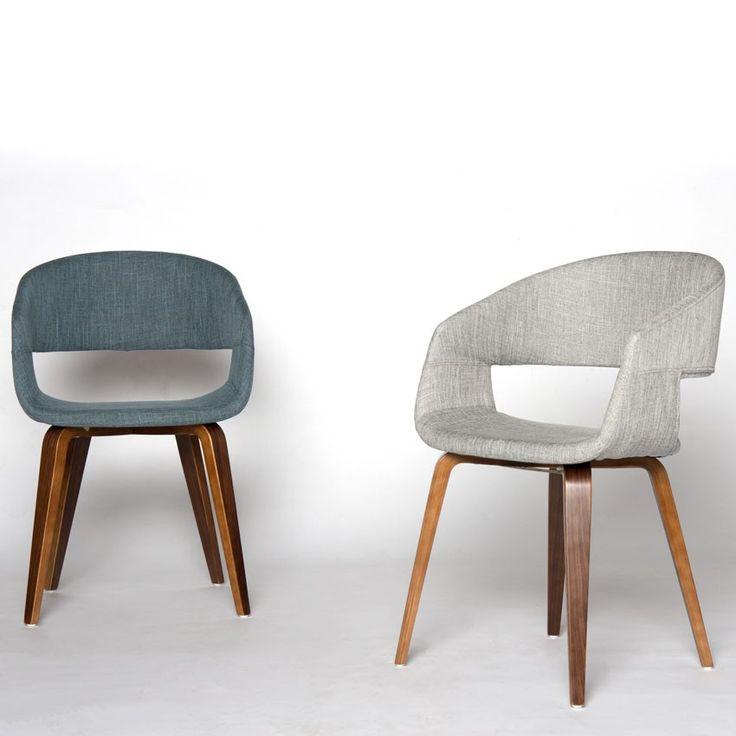 Blue Fabric Arm Chair  - Mobler Furniture, Richmond: Vancouver BC