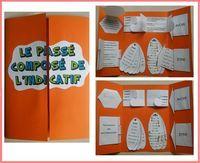 Petit dernier de notre collection de lapbook ; le lapbook du passé composé ! A retrouver sur le blog Lespetitsbrouillons.wordpress.com