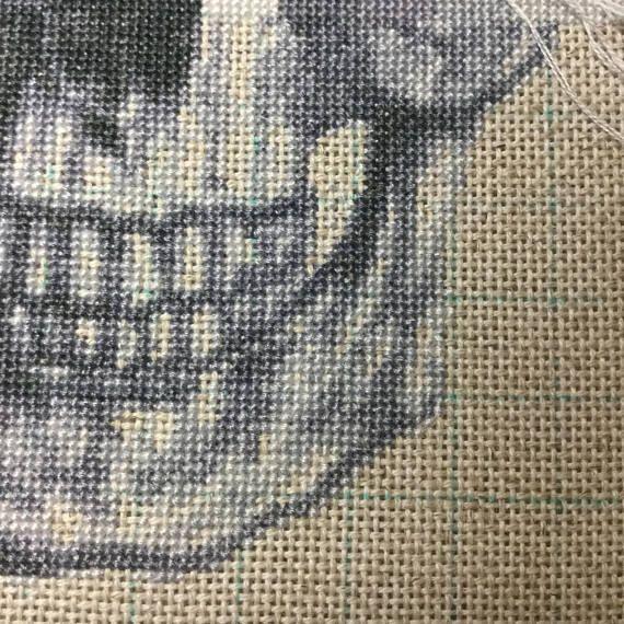 grey Dragon Eye Cross Stitch Pattern PDF Files.