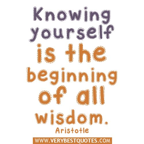 quotes about wisdom | Knowing yourself quotes - Inspirational Quotes about Life, Love ...