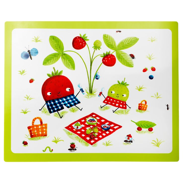 IKEA   TORVA, Place Mat, , The Placemat Protects The Table Top And Is Easy  To Wipe Clean.The Funny Fruit Characters Hold Your Childu0027s Attention While  Eating ...