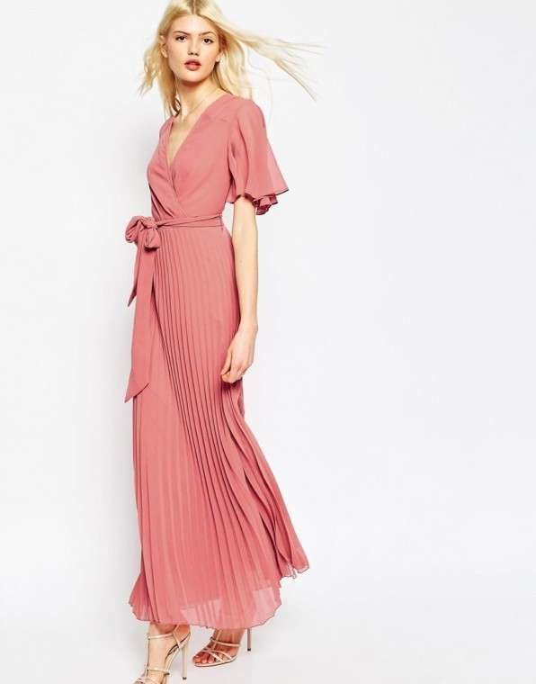 Las 25 mejores ideas sobre vestido rosa palo corto en - Color rosa palo ...