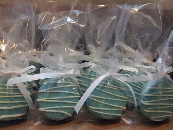 Tiffany Blue and White Oreo - Tiffany Blue Oreo with White Drizzle- Tiffany Theme Party, Tiffany Blue Wedding Favors, Its a Boy Baby Shower on Etsy, $15.00