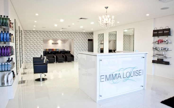 The trendiest new hair salon in town - Check them out!! Emma Louise Hair
