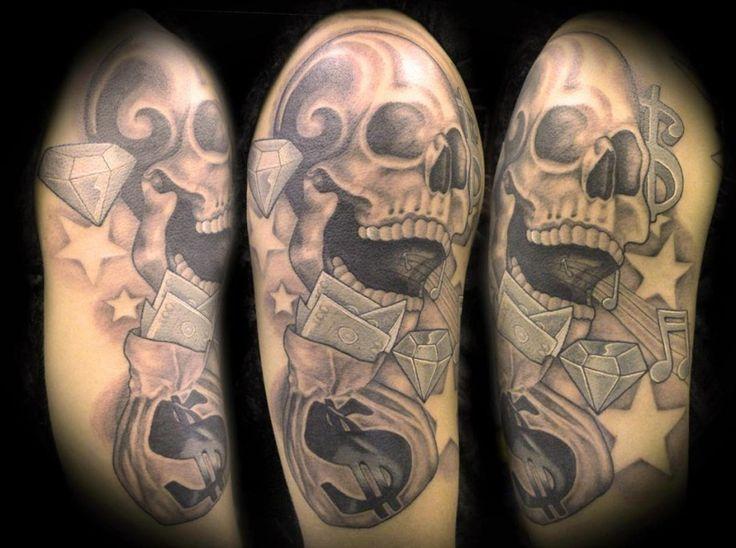money tattoos 2