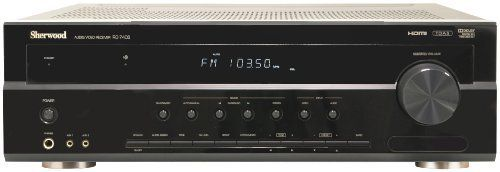 Sherwood RD-7405 2-Zone 7.1-Inch Receiver with HDMI Switching and HD Radio (Black) by Sherwood. $187.54. 2-Zone 7.1 inch Receiver with HDMI Switching and HD Radio. Save 18% Off!