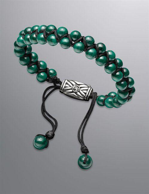 Bracelets: Spiritual Bead Bracelet, Malachite --- cierre ;-)