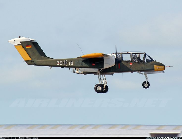 North American Rockwell OV-10B Bronco aircraft picture