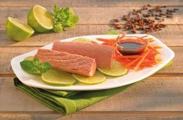 Filetti di tonno con salsa al lime - Chef ASDOMAR