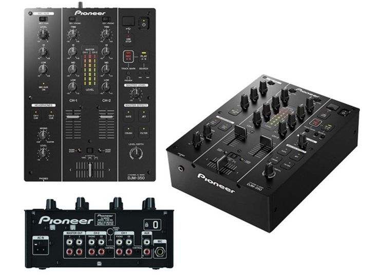 PIONEER DJM-350 PROFESSIONAL DJ MIXER    SPECIAL OFFER, LIMITED QUANTITY AVAILABLE.    Detailed Description:      The DJM-350 mixer inherits similar f