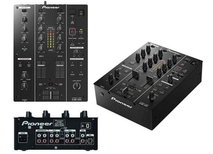 PIONEER DJM-350 PROFESSIONAL DJ MIXER    SPECIAL OFFER, LIMITED QUANTITY AVAILABLE.    Detailed Description:      The DJM-350 mixer inherits similar f