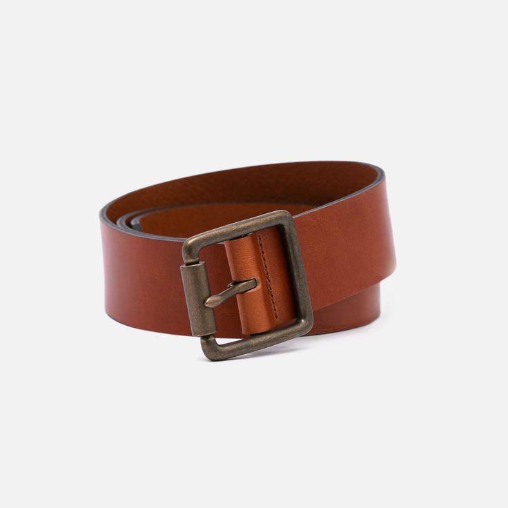 The British Belt Co. - Tumbled Leather - Tan