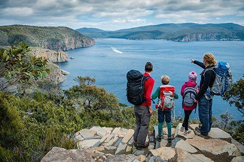 46km 4 Days | WOW! Check out Tasmania's newest walking experience, the Three Capes Track. This spectacular and brand spanking new 'hut walk' just opened today! Book online to secure your place over the lovely summer period in Tasmania. Perfect for those who don't want to camp but still want a wilderness experience, the walk is made up of three overnight stops with shared cabins and quarters - each providing: Mattress Cooking Facilities Heating Toilets Host Ranger Mobile Charging Station LUX!