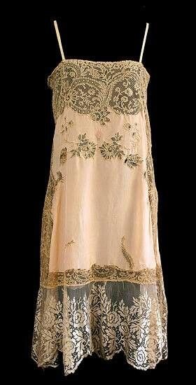 French Silk Lace Slip /Vintage