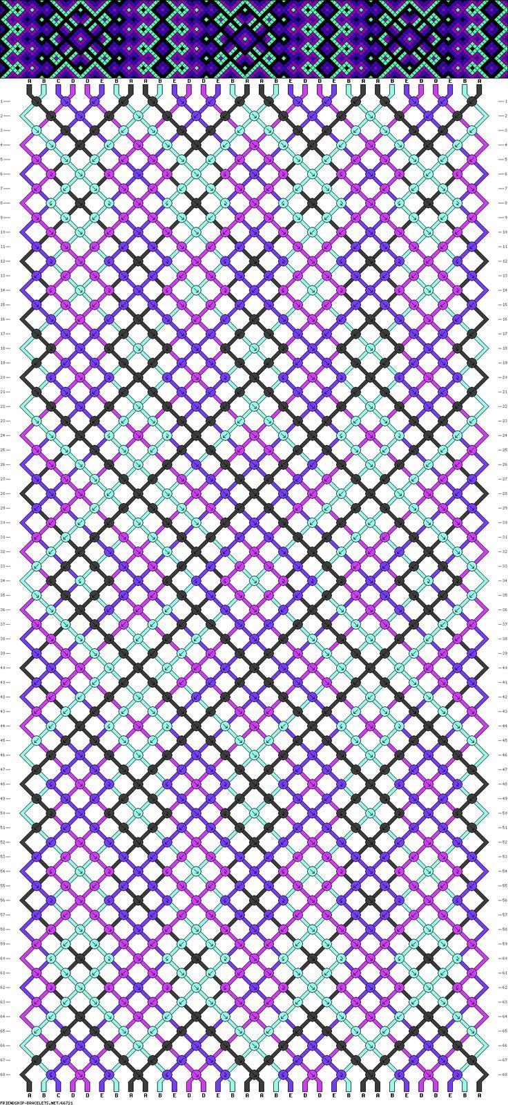 32 strings, 68 rows, 5 colors