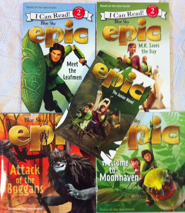 epic movie books for the kiddos