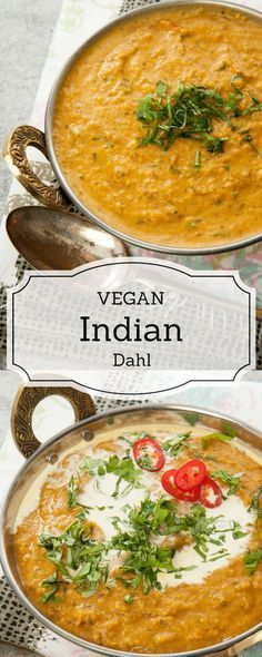 Authentic Indian Dahl Recipe - The perfect comfort food. Vegan, vegetarian, Dairy Free and Gluten Free. Can be made on the stove or in the Thermomix. Instructions are for both