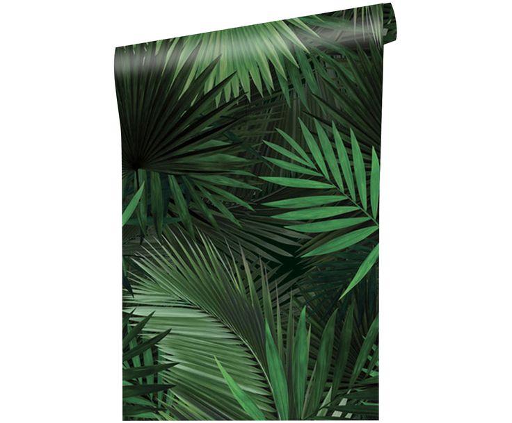 Verleihen Sie Ihren Wänden einen neuen Look. Die Fototapete Palm Leaves mit Palmenmuster in Grün und weitere Tapeten von KEK AMSTERDAM auf >> WestwingNow.