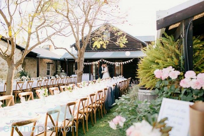 Old Broadwater Farm - Busselton. We love this venue. Amazing rustic styling and a beautiful location. They have outdoor options and a very nice marquee.  - Emma Pointon Photography