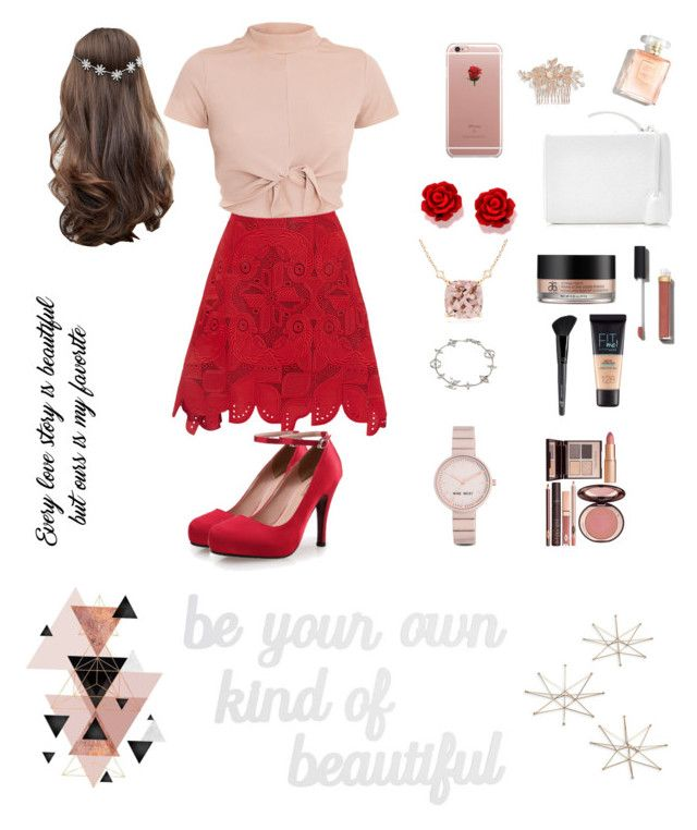 Graduation day's by dindameitiza on Polyvore featuring polyvore, fashion, style, Antonio Berardi, Mark Cross, Louis Vuitton, Nine West, Nina, ASOS, ETUÍ, Chanel, Maybelline, Old Navy, Charlotte Tilbury, Uttermost, PBteen, Arbonne and clothing