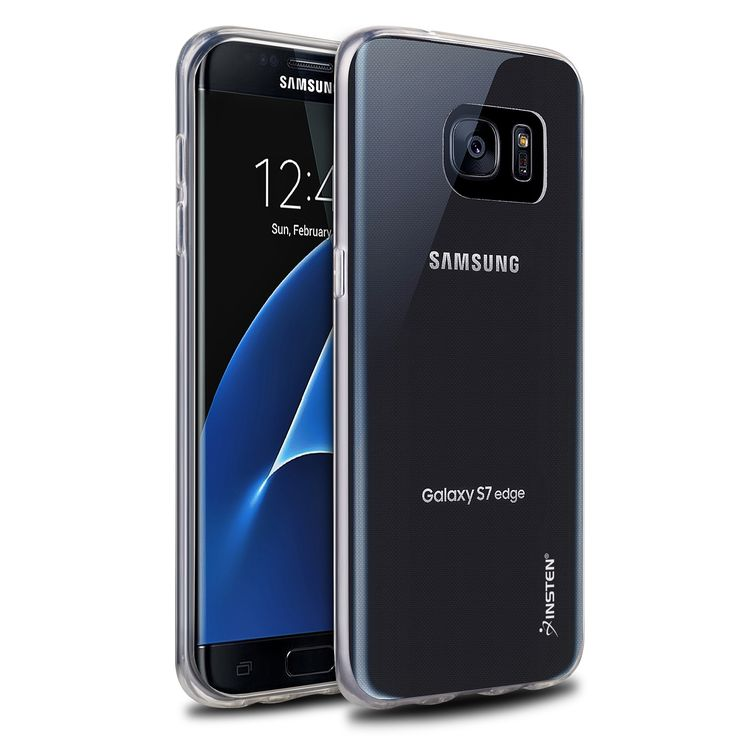 Insten TPU Ultra Thin Gel Anti-scratch Rubber Skin Case for Samsung Galaxy S7 Edge #2213392
