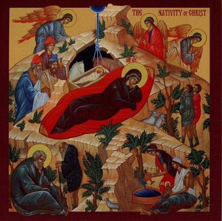 Icoana Nașterii Domnului (Ilinca Damian) http://societatesicultura.ro/2012/12/icoana-nasterii-domnului/