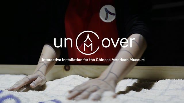 Uncover is an interactive installation that was created as part of the re-branding for the Chinese American Museum. The goal of this project was to raise awareness for the forgotten history of the first Chinese immigrants. Their role in the creation of modern America is often overlooked and unappreciated. Because of these circumstances, the new generation of Chinese Americans don't have a sense of the heritage. Their lack of a connection to their culture motivated me to create a installation…