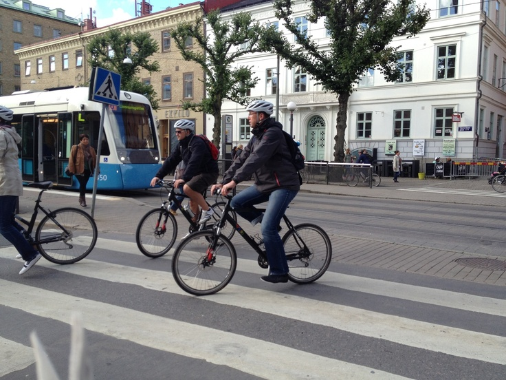 Bikes in town
