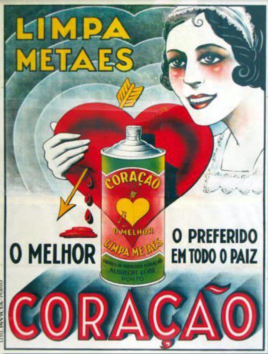 """""""Limpa Metaes Coração"""" - c.1930"""