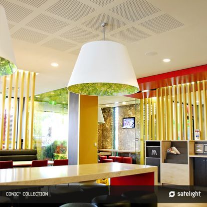 Conic Pendant Lighting Collection - Satelight - Products - Satelight - Lighting Design, Custom Made Light Fixtures, Interior Lighting, Decorative Lamp Shades, Feature Pendant Lights - Melbourne, Australia
