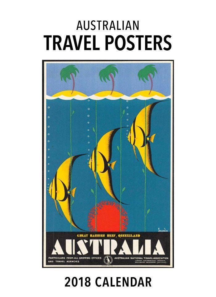 Australian Travel Posters Calendar 2018