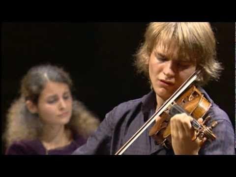 Dvorak/Persinger - Song my mother taught me. Valeriy Sokolov (violin) Sv...