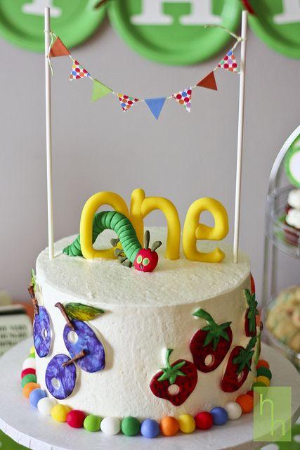 Smash cake... hmmm wonder if I can make this??
