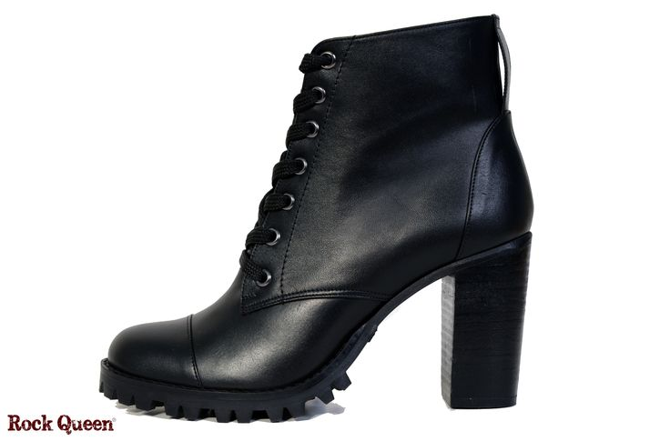 www.rockqueen.shoes https://www.facebook.com/rqshoes #RQ_015  #Rock_Queen #rock #queen #star #shoes #handmade #handcraft #greece #ankle #boots #leather #quality #black #heel #woman #fashion #collection #rabber #truck #truck_sole #sexy
