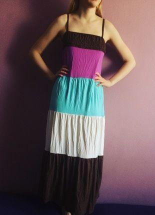 Kup mój przedmiot na #vintedpl http://www.vinted.pl/damska-odziez/dlugie-sukienki/12999706-kolorowa-maxi-sukienka-z-melrose