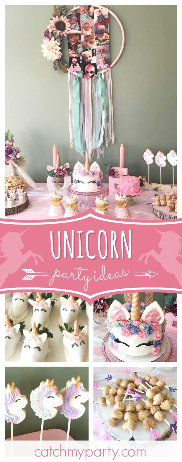 year birthday invitatiowordingiindiastyle%0A Boho Unicorn   Birthday   Ella u    s Boho Unicorn  st Birthday Party