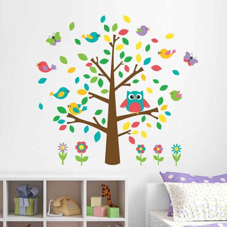 Best Muurstickers Baby En Kinderkamer Images On Pinterest - Wall decals kids roomowl tree branch photo frames wall decal removable wall stickers